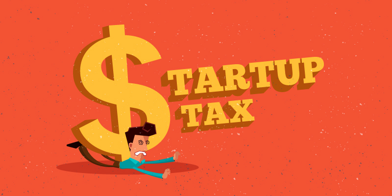 Start-up tax exemption procedure