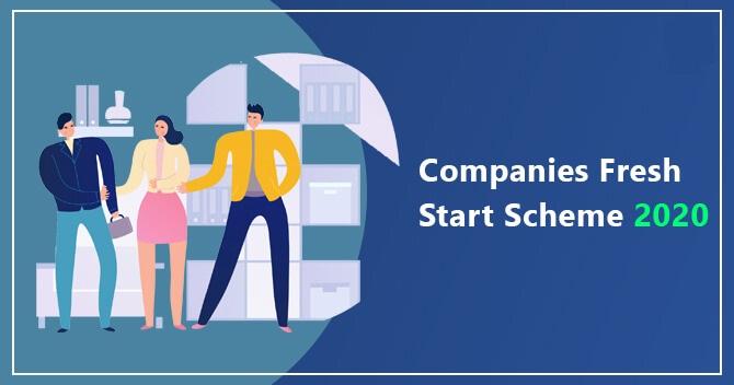 Companies Fresh Start Scheme 2020