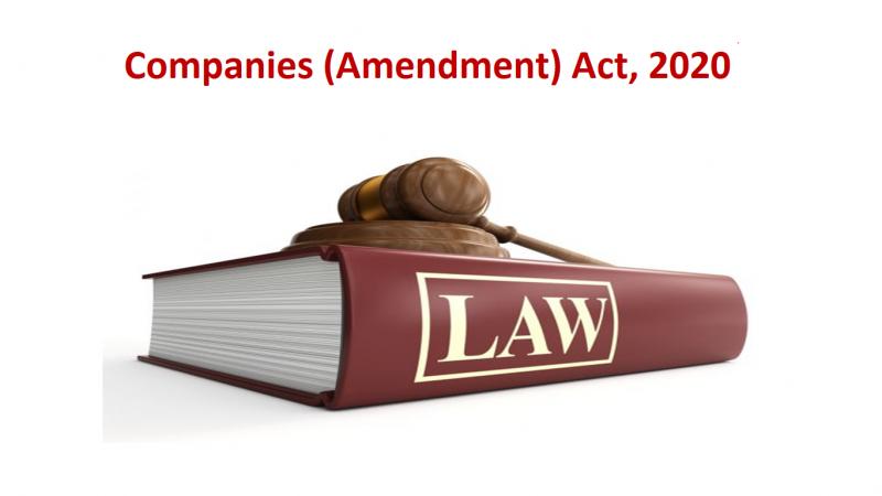 Companies (Amendment) Act, 2020