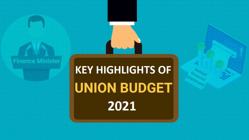 Key Highlights of Union Budget 2021